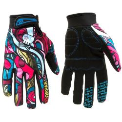 Skärm-touch, fullfinger, vinterhandskar för skidåkning, MO-CL