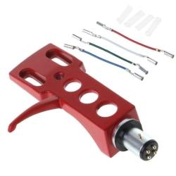 Skivspelare headshell mount universal lp phono patron för Red