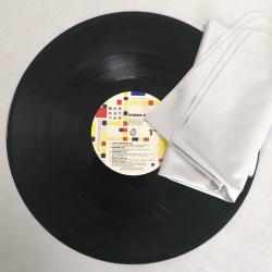 Stor rengöringsabsorberande mjuk trasa för LP vinylskiva -