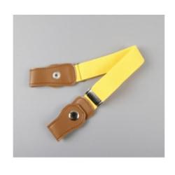 Tecknad tryck, spänningsfritt, elastiskt midjeband, justerbara Yellow