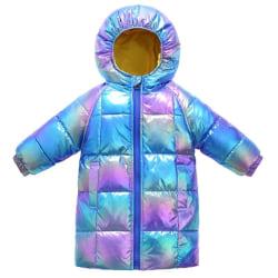 Vinterrockar med dragkedja, sportjackor för, Royal blue5 7