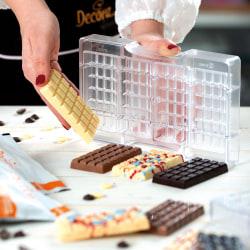 Chokladkaka Pralinform 4st Praliner Chokladform - Decora multifärg