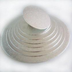 Tårtbricka Silver 35cm, 4mm - FunCakes