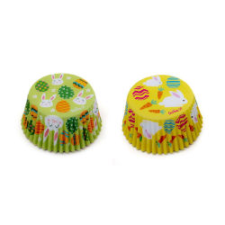 Påsk Muffinsformar Påskägg Påskhare 36st - Decora