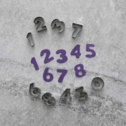 Siffror 0-9 Utstickare Rostfritt Stål