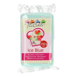 Isblå Marsipan - FunCakes blå