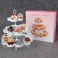 Muffinsträd Muffinsställ 22st Cupcakes Stand Large Vitt