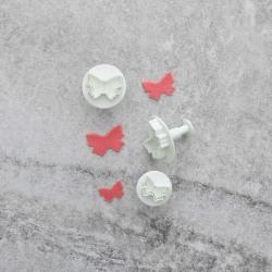 Fjärilar Utstickare 3st Plunger