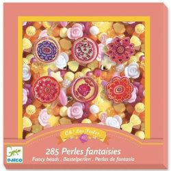 Flower Pärlor Pärlset Blommor - Djeco flerfärgad