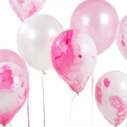 Rosa Ballonger - We Love Pink Marble Effect rosa