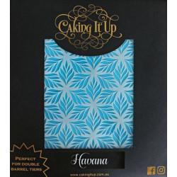 Caking It Up - Tårtstencil Havana Schablon Svart