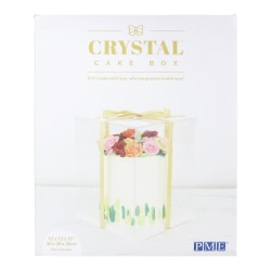 CRYSTAL Cake Box - 14 inch (35cm)