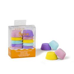 Blandade Mini-muffinsformar Pastel 200st- Decora multifärg