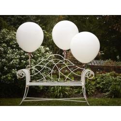 Stora Vita Ballonger 90cm - 3-Pack