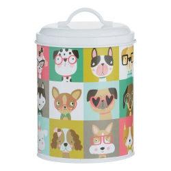 Hund förvaringburk PAWTRAIT -MASON&CASH Vit