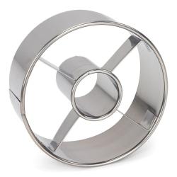 Patisse- Donut & Bagel Utstickare  Silver