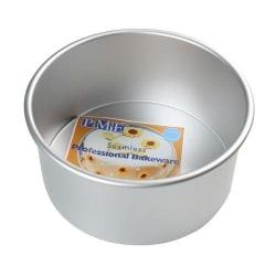 PME Bakform Rund Extra Djup, 22.5cm x 10cm Extra Deep Round Pan Silverkrom