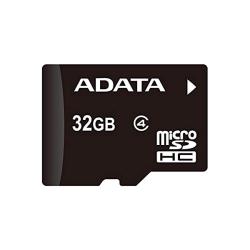 ADATA Micro SDHC, 32GB, Class 4 w/SD adapter