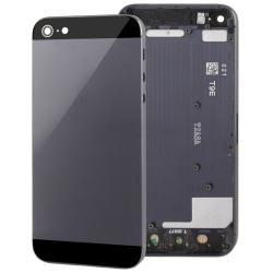 Komplett iPhone 5 baksida med delar – Svart