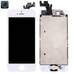Komplett iPhone 5 Skärm med delar Vit