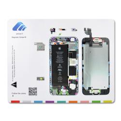 Magnetisk skruvkarta för iPhone 6 till mobilreparation