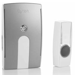 Byron Trådlös plugin dörrklocka BY514E 125 m 10.007.88 Vit