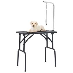 vidaXL Trimbord för hundar med 1 koppel