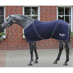 Covalliero Hästtäcke fleece RugBe Classic marinblå 145 cm Blå