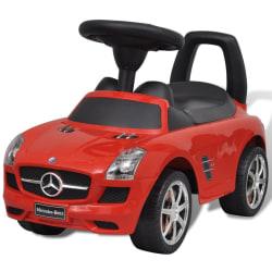 vidaXL Röd Mercedes Benz trampbil Röd