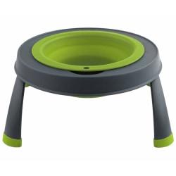 Popware Upphöjd matskål enkel liten grön 306946 Grön