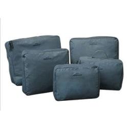 Insatser till resväskor (5 pack) - Bag in Bag (Grå)