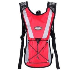 Ryggsäck för multisport, cykel-löpning-vandrig-träning (röd)
