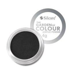 Akrylpulver - Silcare - The Garden of Colour - Nr 02 Svart
