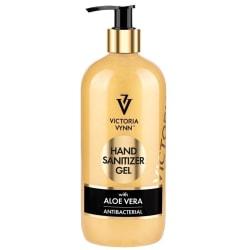 Antibakteriell hand gel - Aloe Vera - 500ml - Victoria Vynn Guld