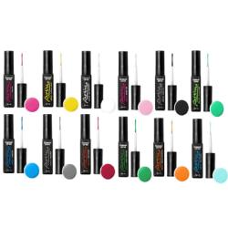 Base one - UV-Gel - Artisto - 12 pack - 10 gram multifärg
