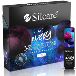 Flexy - Hybrid gel - 4 pack - Serie: Moonstone 187-190 - 4.5g multifärg