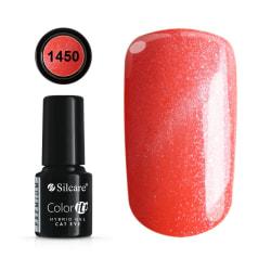 Gellack - Hybrid Color IT Premium - Cat eye - 1450 - Silcare Röd