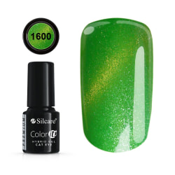 Gellack - Hybrid Color IT Premium - Cat eye - 1600 - Silcare Grön