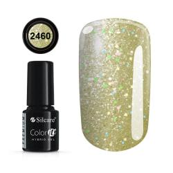 Gellack - Hybrid Color IT Premium - Unicorn - 2460  - Silcare Ljusgul