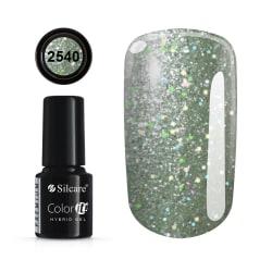 Gellack - Hybrid Color IT Premium - Unicorn - 2540  - Silcare Ljusgrön