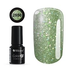 Gellack - Hybrid Color IT Premium - Unicorn - 2550  - Silcare Limegrön