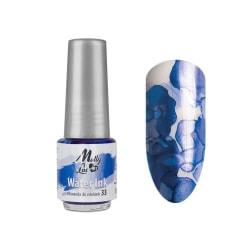 Molly Lac - Water Ink - Metallic - 5ml - 33 Blå