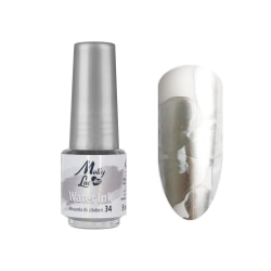 Molly Lac - Water Ink - Metallic - 5ml - 34 Silver