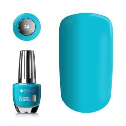 Silcare - Garden of Colour - Nagellack - 34 - 15 ml Ocean blå