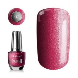 Silcare - Garden of Colour - Nagellack - Sparkling - 127 - 15 ml Vin, röd