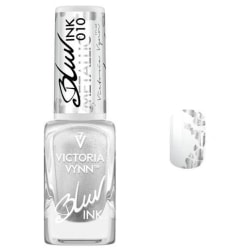 Victoria Vynn - Blur Ink - 010 Metallic - Dekorlack grå