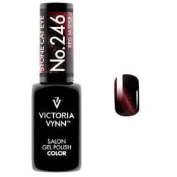 Victoria Vynn - Gel Polish - 246 Stone Cat Eye - Gellack Röd