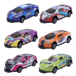 Stunt Toy Car, Jumping Stunt Car Toy, Pull Back Vehicles Toy