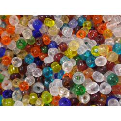 12000st Glaspärlor 2-3mm - Blandade Färger flerfärgad