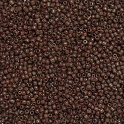 Seed beads, ca 2mm, chokladbruna, 20g
